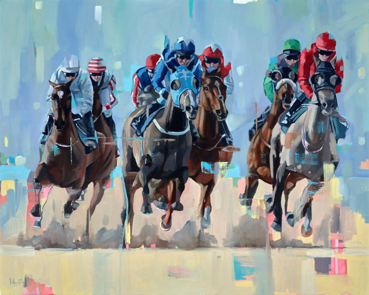 Thunder by pete hawkins -  sized 39x32 inches. Available from Whitewall Galleries